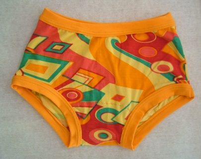 orange Noonee Knickers
